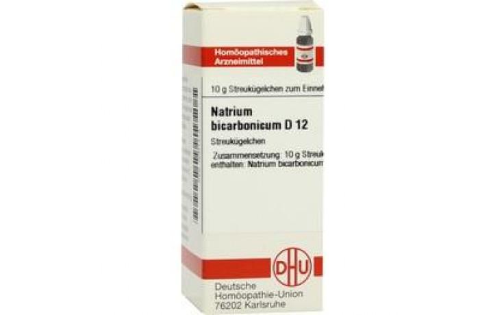 NATRIUM BICARBONICUM D 12 Globuli