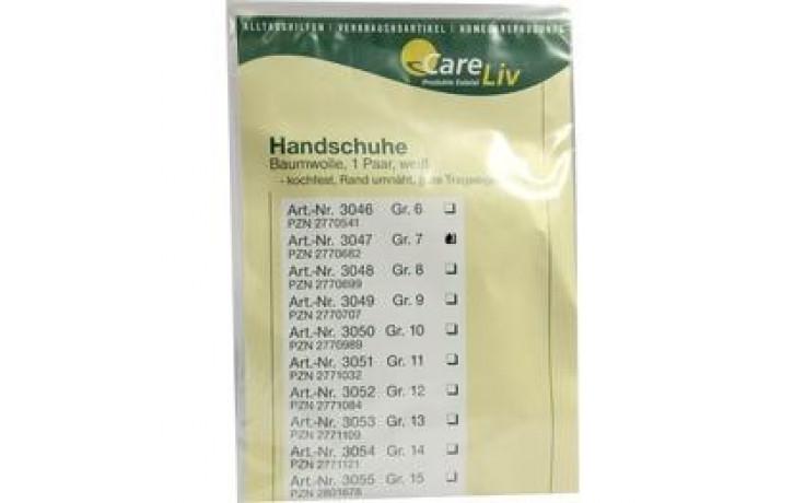 HANDSCHUHE Baumwolle Gr.7
