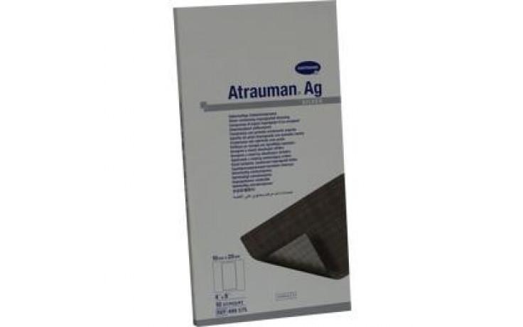 ATRAUMAN Ag 10x20 cm steril Kompressen