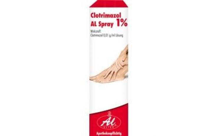 CLOTRIMAZOL AL Spray 1%