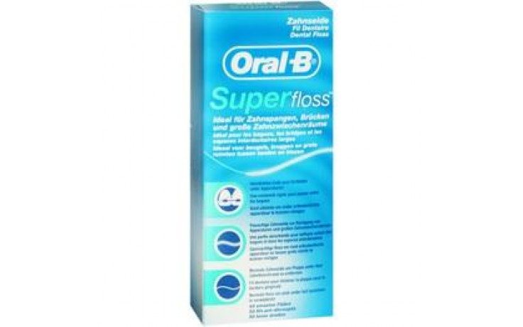 ORAL B Zahnseide Superfloss