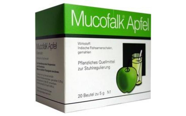 MUCOFALK Apfel Gran.z.Herst.e.Susp.z.Einn.Beutel