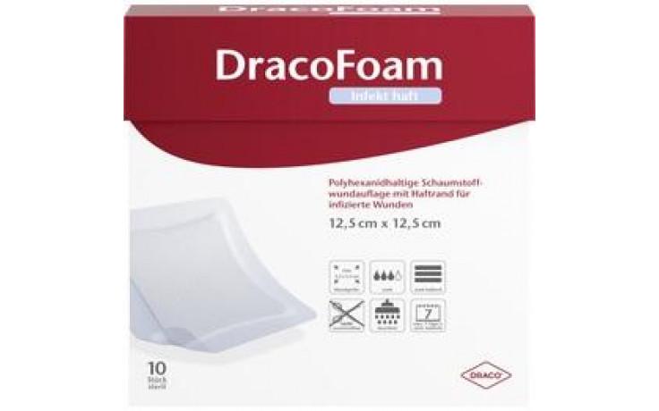 DRACOFOAM Infekt haft Schaumst.Wundauf.12,5x12,5cm