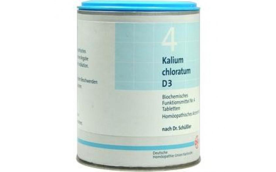 BIOCHEMIE DHU 4 Kalium chloratum D 3 Tabletten