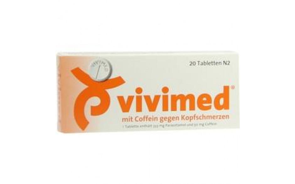 VIVIMED mit Coffein gegen Kopfschmerzen Tabletten