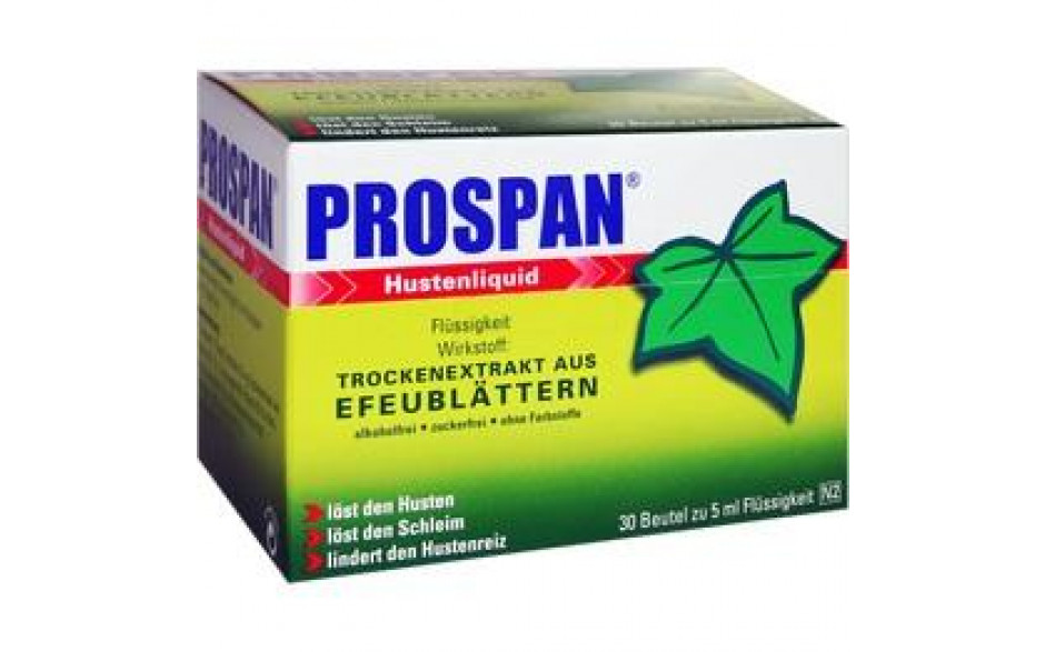 PROSPAN Hustenliquid im Portionsbeutel