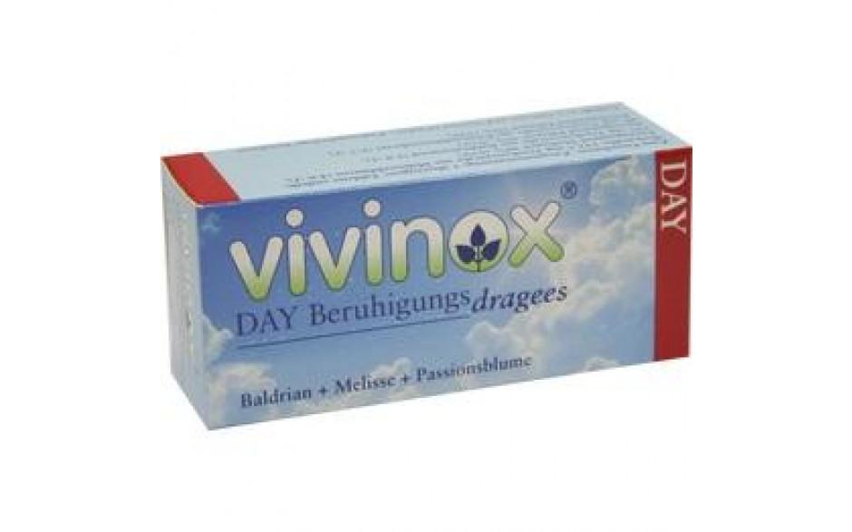 VIVINOX Day Beruhig.Drag.mit Bald.Mel.+Passionsbl.