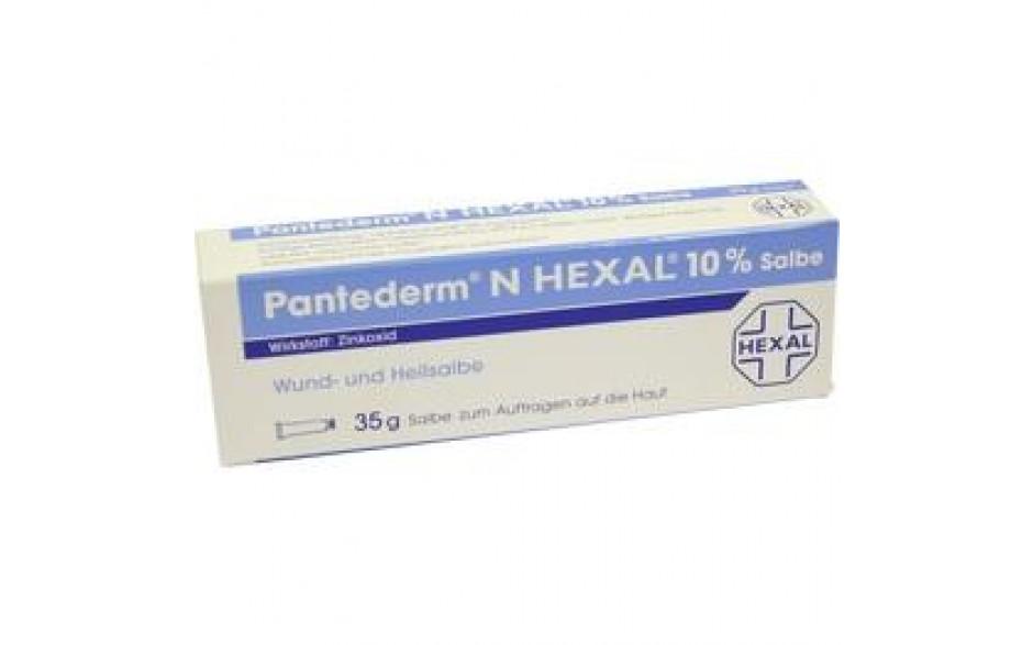 PANTEDERM N HEXAL Wund- und Heilsalbe
