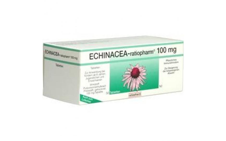 ECHINACEA-RATIOPHARM 100 mg Tabletten