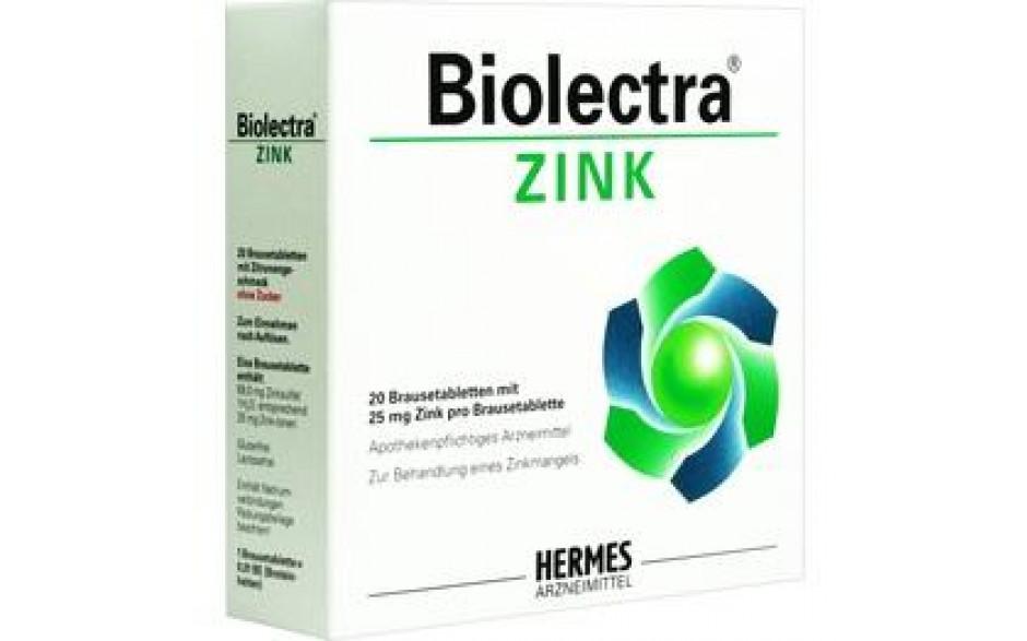 BIOLECTRA Zink Brausetabletten