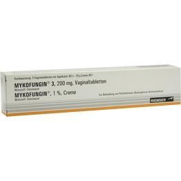MYKOFUNGIN 3 Kombip. 3 Tabl.+20 g Creme