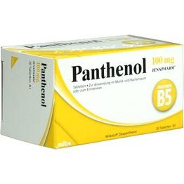 PANTHENOL 100 mg Jenapharm Tabletten