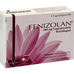 FENIZOLAN 600 mg Vaginalovula