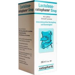LACTULOSE-ratiopharm Sirup