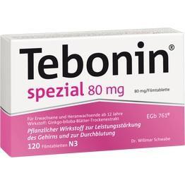TEBONIN spezial 80 mg Filmtabletten