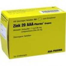 ZINK 20 AAA-Pharma Dragees