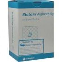 BIATAIN Alginate Ag Kompressen 5x5 cm mit Silber