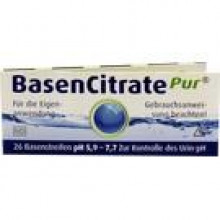 BASEN CITRATE Pur Teststr.pH 5,9-7,7 n.Apot.R.Keil