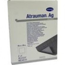 ATRAUMAN Ag 10x10 cm steril Kompressen