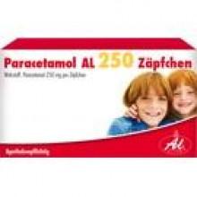 PARACETAMOL AL 250 Kleinkindersuppositorien