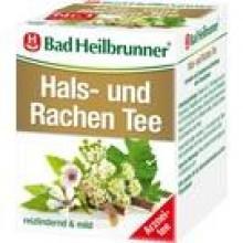 BAD HEILBRUNNER Hals- und Rachen Tee Filterbeutel