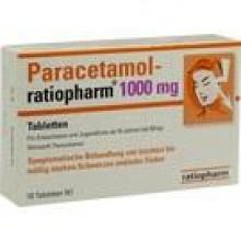 PARACETAMOL-ratiopharm 1.000 mg Tabletten