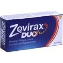 ZOVIRAX Duo 50 mg/g / 10 mg/g Creme 2 G