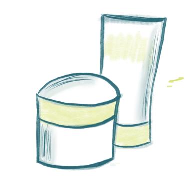 Kosmetische Hautpflege aus der Apotheke